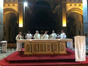 messa cattedrale tunisi