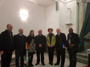 VISITA DELEGAZIONE DIOCESI CAGLIARI A TUNISI, NOVEMBRE 2017